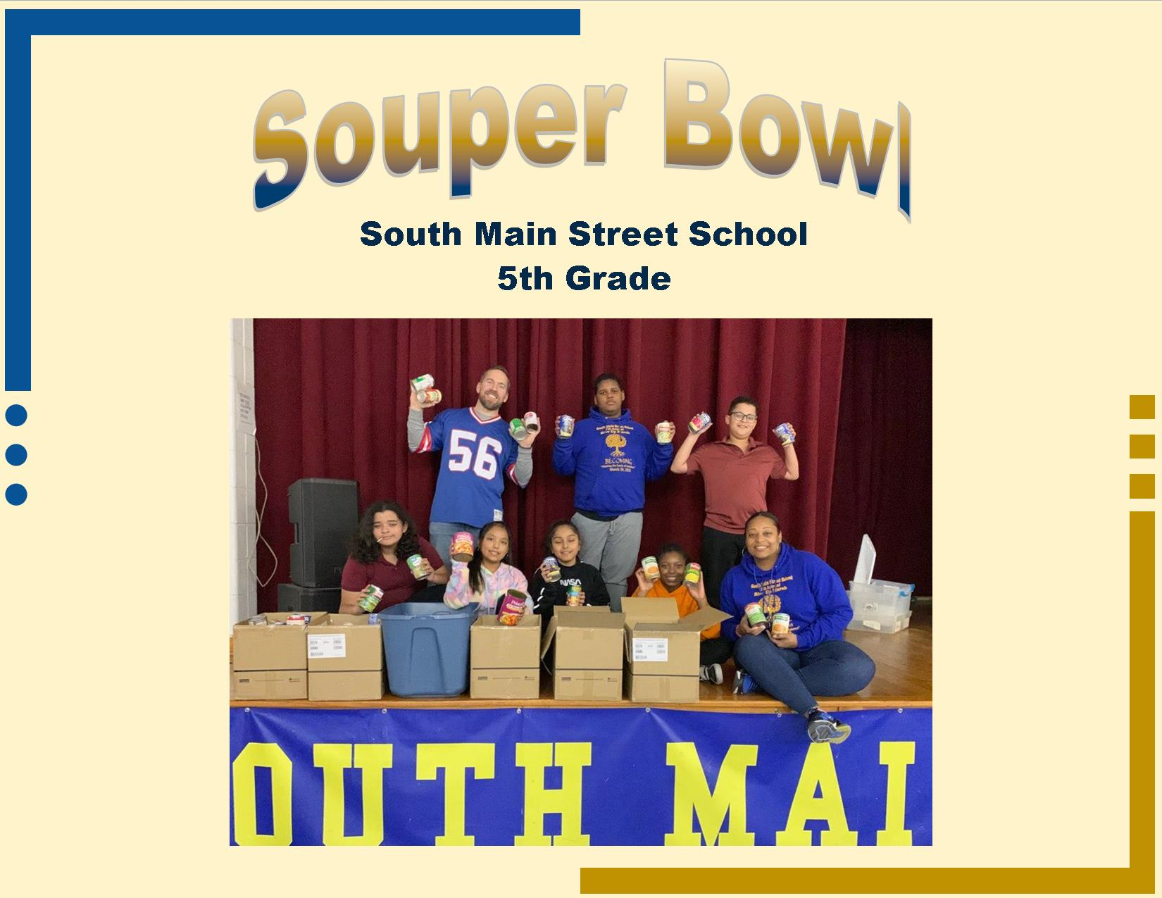 Souper Bowl South Main Street 5th Grade