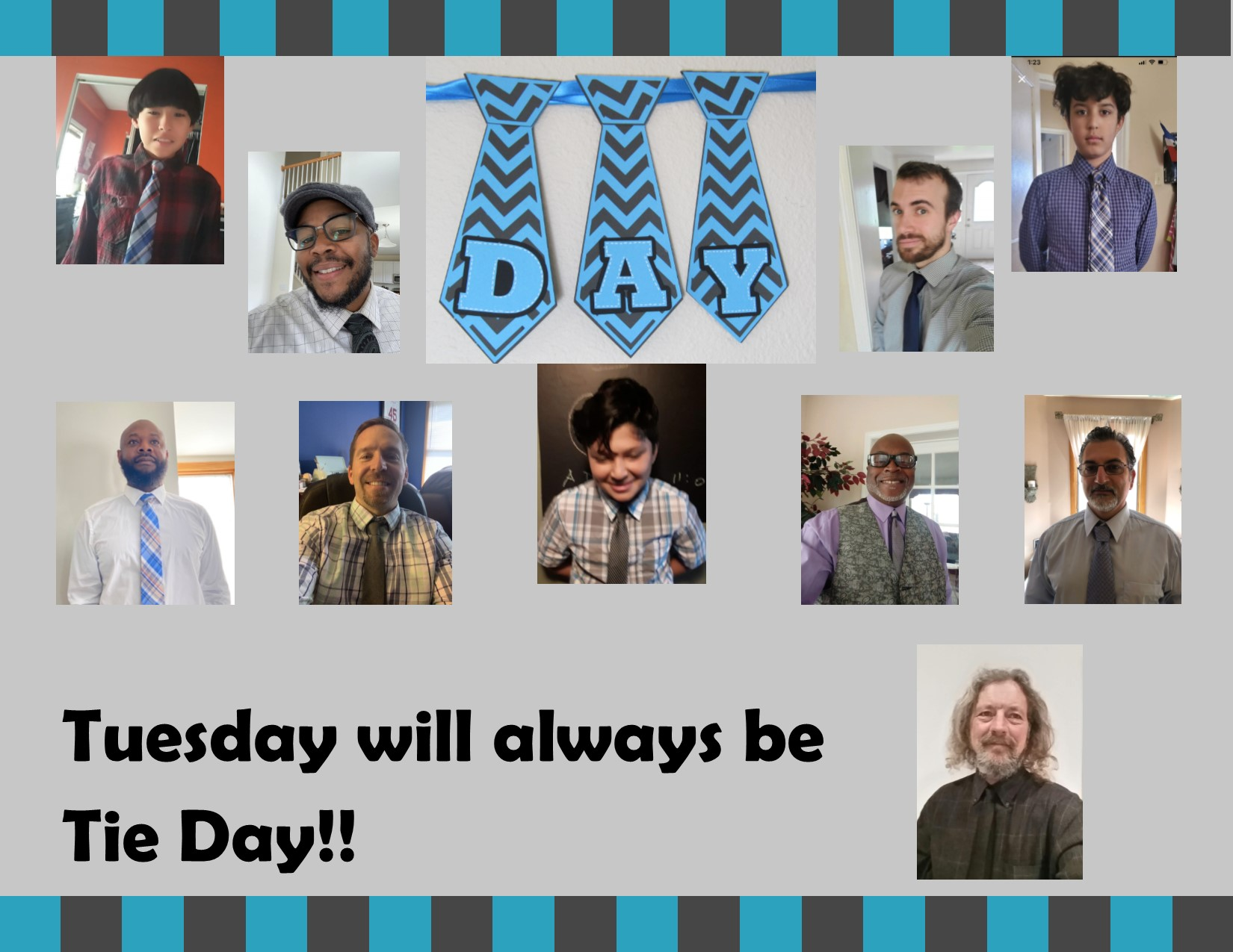 Tuesday will always be Tie Day image