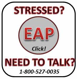 Stressed? EAP Click! Need To Talk? 1-800-527-0035